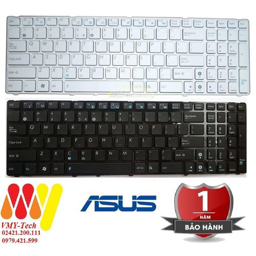 Bàn phím laptop asus x52n x52f x53e k73e k73s k73sm k73sv - keyboard new - zin