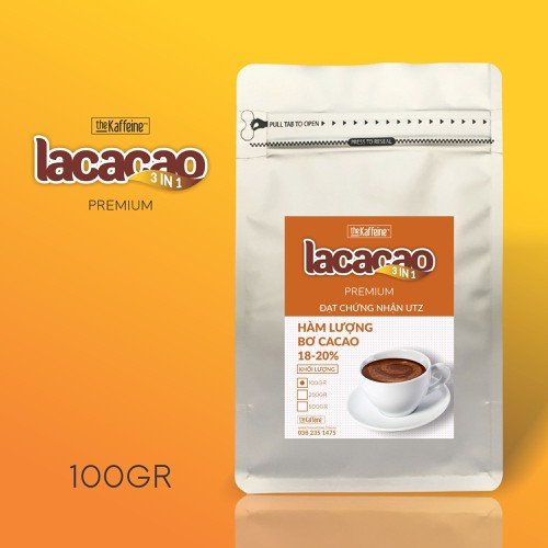 Cacao sữa 3in1 uống liền lacacao - the kaffeine - 100g - 11984331 , 19574876 , 15_19574876 , 45000 , Cacao-sua-3in1-uong-lien-lacacao-the-kaffeine-100g-15_19574876 , sendo.vn , Cacao sữa 3in1 uống liền lacacao - the kaffeine - 100g