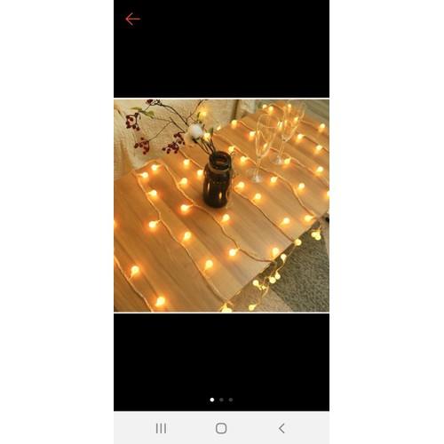 4m Dây đèn led bi cherry 30 bóng