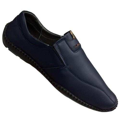 Giày mọi nam da bò cao cấp Trường Hải GM319