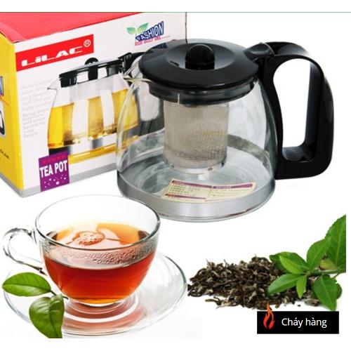 Bình lọc trà thủy tinh 350ml.