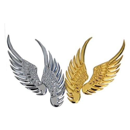 🚗 Tấm dán ,logo nổi trang trí ô tô hình cách chim đại bàng 60