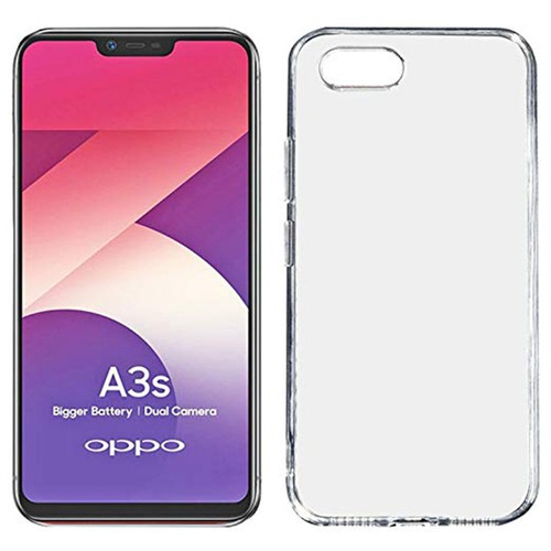 Ốp lưng dẻo silicon trong suốt điện thoại oppo a3s