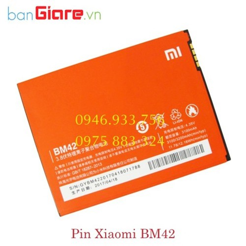 Pin Xiaomi BM42