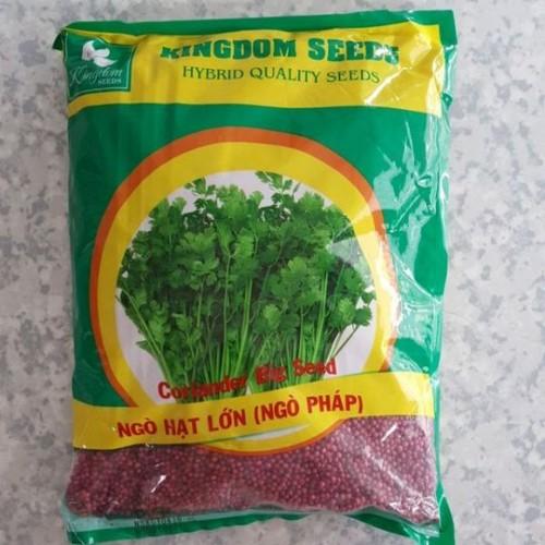 Ngò hạt lớn pháp kingdom seeds 1kg