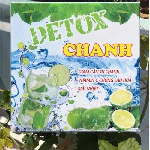 hộp 20 Gói Detox Trà Chanh Giảm cân