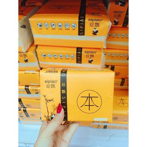 Một thùng giấy ăn gấu trúc sipiao 27 gói to  - nhập khẩu loại 1