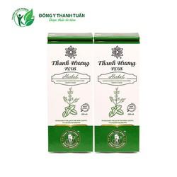 Combo 02 chai nước súc miệng thơm miệng Thanh Hương Plus 250ml