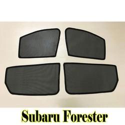 Bộ rèm che nắng theo xe SUBARU FORESTER mới nhất, tiện lợi nhất , khắc phục hoàn toàn các khuyết điểm của những bộ rèm che nắng xe hơi trên thị trường hiện nay