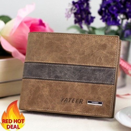 [Siêu sale]  ví nam cao cấp thời trang chính hãng yateer