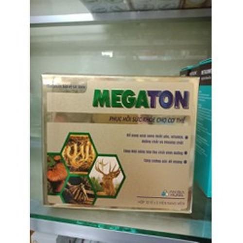 Megaton phục hồi sức khỏe cho cơ thể hộp 12 vỉ x 5 viên - 11407921 , 19578219 , 15_19578219 , 150000 , Megaton-phuc-hoi-suc-khoe-cho-co-the-hop-12-vi-x-5-vien-15_19578219 , sendo.vn , Megaton phục hồi sức khỏe cho cơ thể hộp 12 vỉ x 5 viên