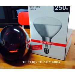 Bóng đèn hồng ngoại Dictong 250W 100W E27 chính hãng