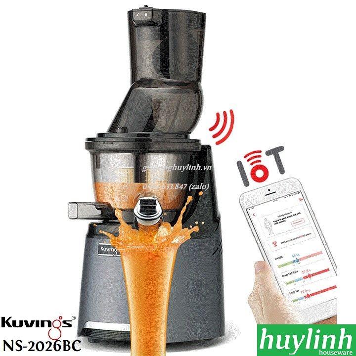 Máy ép chậm thông minh Kuvings NS-2026BC - Smart Juice - Kuvings 2026BC