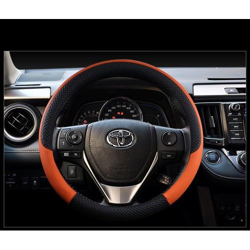 Bọc vô lăng bao da tay lái steering wheel đường kính 38 cm singting
