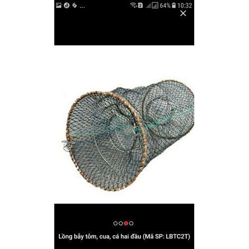 Lồng bẫy cá tôm cua 50cm giá hủy diệt
