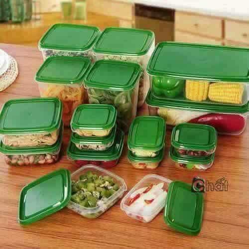 Hộp đựng thức ăn 17 chi tiết