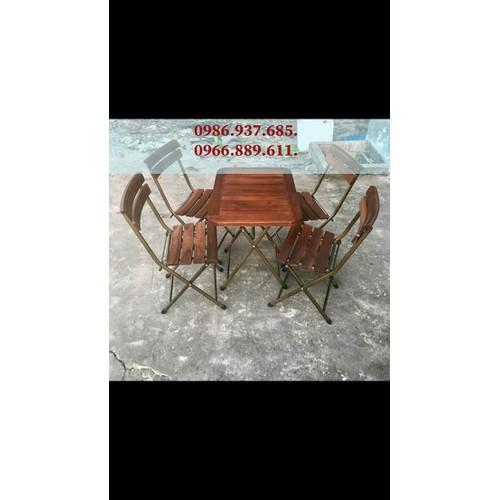 Bộ bàn ghế xếp khung sắt mặt gỗ nhập giá rẻ - 11993188 , 19587953 , 15_19587953 , 1180000 , Bo-ban-ghe-xep-khung-sat-mat-go-nhap-gia-re-15_19587953 , sendo.vn , Bộ bàn ghế xếp khung sắt mặt gỗ nhập giá rẻ