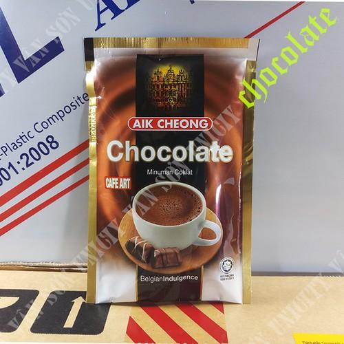 1 gói nhỏ thức uống socola malaysia 40g - aik cheong chocolate - cafe art