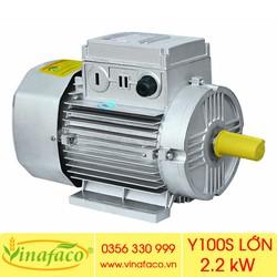 Động Cơ Điện 2.2kW Y100S Lớn – 1490 Vòng Phút