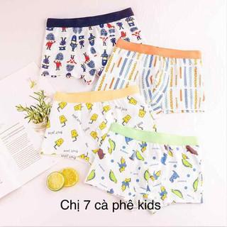 quần sip bé trai com bo 5 quần - quần lót cho bé dạng đùi cao cấp