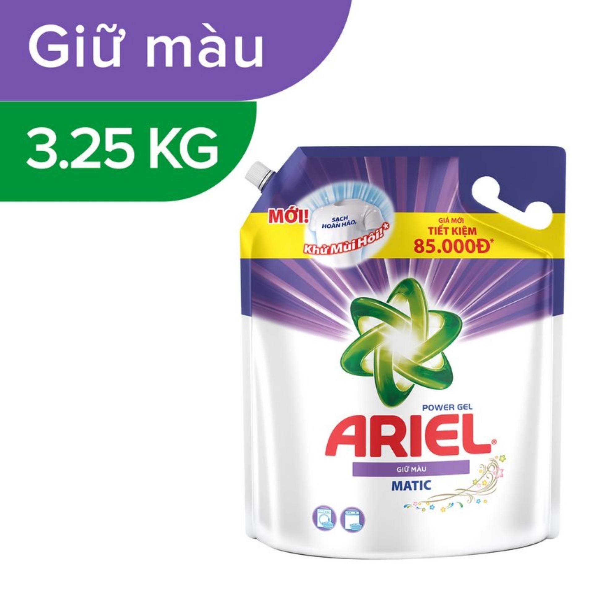 Nước Giặt Ariel Giữ Màu Túi 3.25kg - 4902430849357
