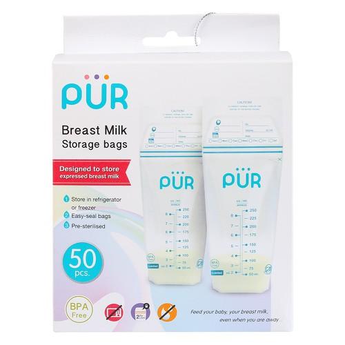 Túi trữ sữa pur pur6204 - hộp 50 túi