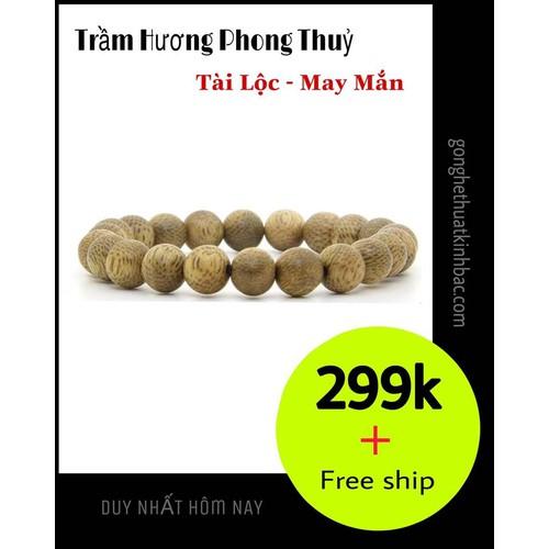 [ siêu sale ] vòng tay trầm hương tự nhiên 8ly,23 hạt , dành cho nữ, đem lại may mắn - tài lộc - kèm hộp đựng cao cấp