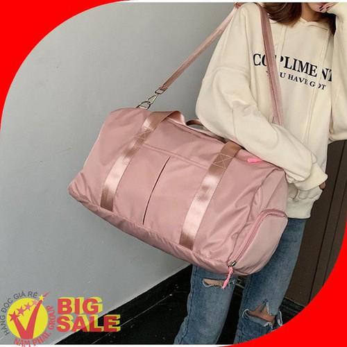 Túi xách đa năng gym du lịch dạo phố màu hồng