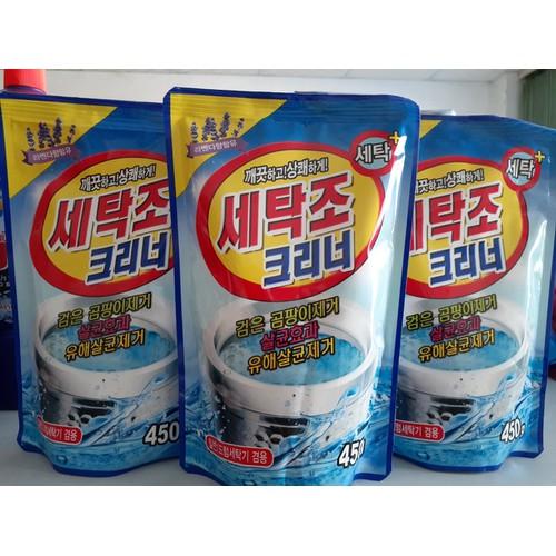 Combo 2 gói bột tẩy vệ sinh lồng máy giặt hàn quốc 450g - 17296797 , 19797800 , 15_19797800 , 68000 , Combo-2-goi-bot-tay-ve-sinh-long-may-giat-han-quoc-450g-15_19797800 , sendo.vn , Combo 2 gói bột tẩy vệ sinh lồng máy giặt hàn quốc 450g