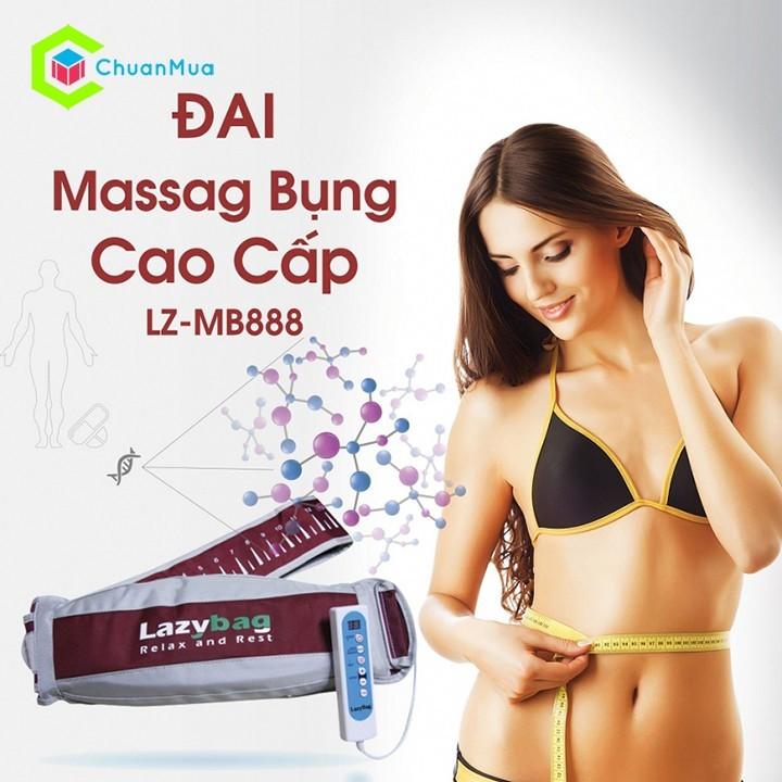 Đai massage bụng cao cấp LZ-MB888