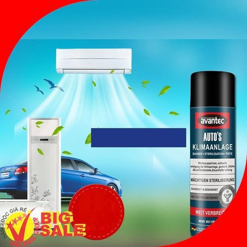 Chai vệ sinh khử mùi máy lạnh dụng cụ vệ sinh máy lanh ô tô trong nhà