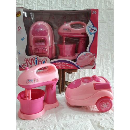 Bộ đồ chơi máy đánh trứng và máy hút bụi cho bé - 20920158 , 23998639 , 15_23998639 , 149000 , Bo-do-choi-may-danh-trung-va-may-hut-bui-cho-be-15_23998639 , sendo.vn , Bộ đồ chơi máy đánh trứng và máy hút bụi cho bé