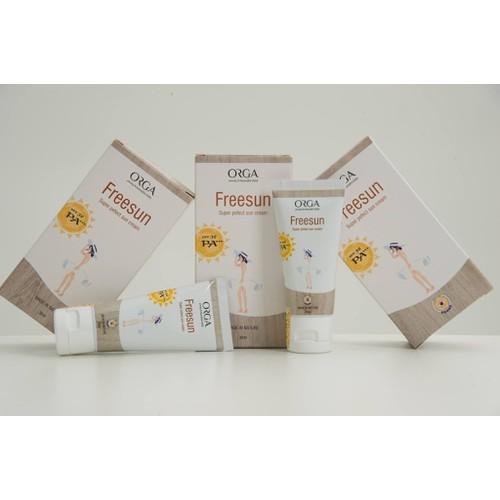 Kem chống nắng freesun - orga cosmetics