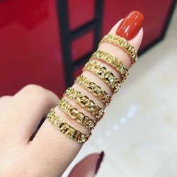 Nhẫn Kim Tiền - Trang Sức Bee Jewelry Hồng Kông