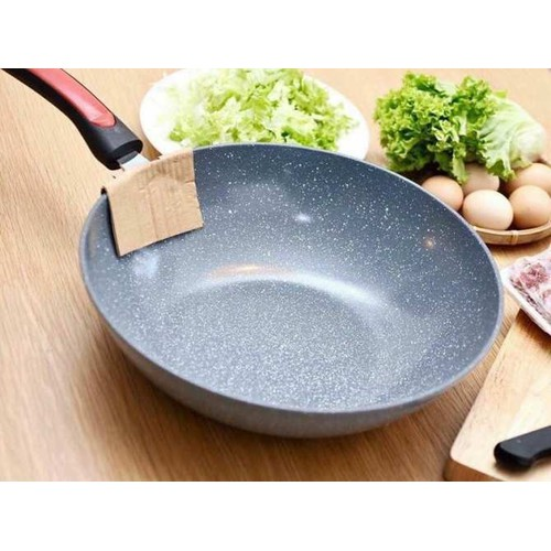 Chảo vân đá sâu lòng chống dính ceramic 32cm dùng cho mọi bếp - 17294117 , 19792810 , 15_19792810 , 139000 , Chao-van-da-sau-long-chong-dinh-ceramic-32cm-dung-cho-moi-bep-15_19792810 , sendo.vn , Chảo vân đá sâu lòng chống dính ceramic 32cm dùng cho mọi bếp