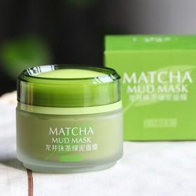 mặt nạ trà xanh bùn non match mud mask - mntxbn