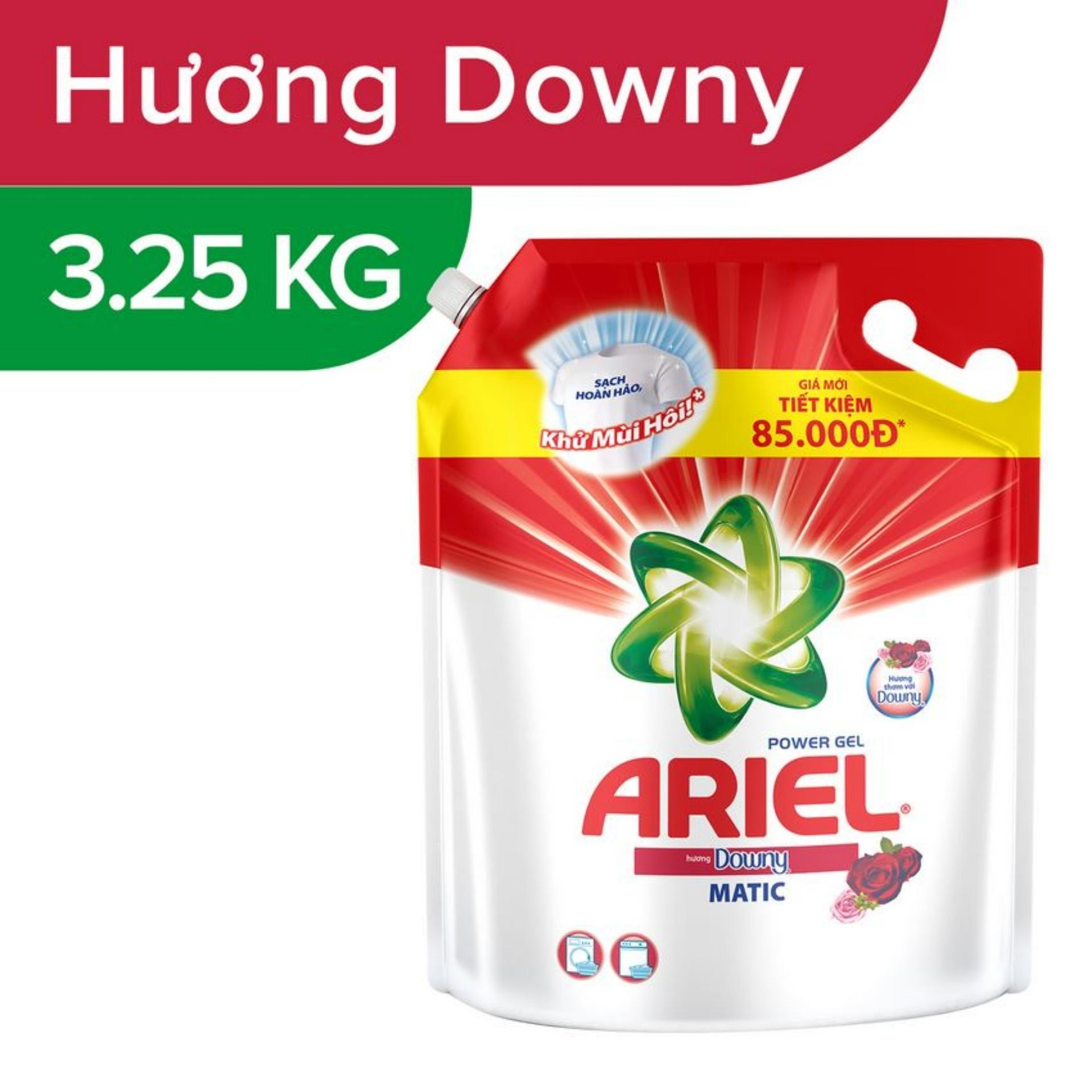 Nước Giặt Ariel Downy 3.25Kg