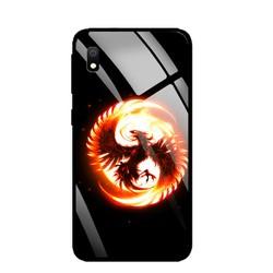 Ốp Lưng cho điện thoại Samsung Galaxy A10 - Mặt Kính Cường Lực -  PHUONGHOANGLUA