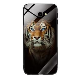 Ốp Lưng cho điện thoại Samsung Galaxy J4 Plus - Mặt Kính Cường Lực -  TIGER03