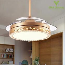 Quạt trần đèn cao cấp 9015 - Quạt trần trang trí