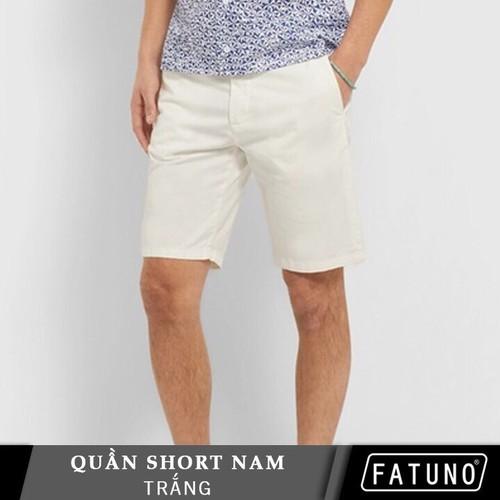 [Đũi mát] quần đùi nam vải đũi cao cấp