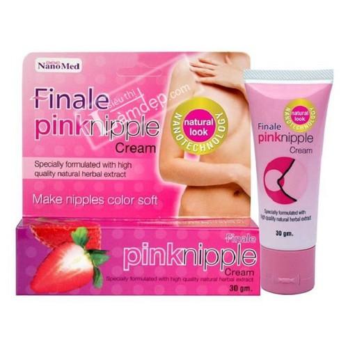 Kem làm hồng nhũ hoa finale pink nipple - chính hãng