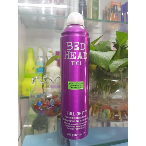 Gôm giữ nếp tạo phồng tigi bed head full of it - volume finishing hairspray 371ml - 17306831 , 19814565 , 15_19814565 , 488900 , Gom-giu-nep-tao-phong-tigi-bed-head-full-of-it-volume-finishing-hairspray-371ml-15_19814565 , sendo.vn , Gôm giữ nếp tạo phồng tigi bed head full of it - volume finishing hairspray 371ml