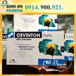 hoạt huyết dưỡng não Cevinton Forte hộp 30 viên - Chống Suy Giảm Trí Nhớ, đột quỵ