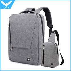 Combo Balo Laptop LAZA BL418 và Túi đeo chéo TX361