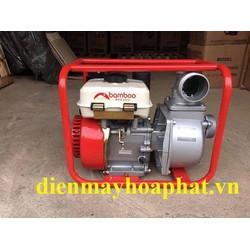 Máy bơm nước chạy dầu Bamboo XB20XTD 6.5HP chính hãng, giá rẻ quá.