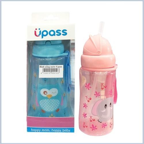 Hot bình uống nước có ống hút mềm upass 300ml cho bé trai bé gái re - 18183429 , 22842060 , 15_22842060 , 108750 , Hot-binh-uong-nuoc-co-ong-hut-mem-upass-300ml-cho-be-trai-be-gai-re-15_22842060 , sendo.vn , Hot bình uống nước có ống hút mềm upass 300ml cho bé trai bé gái re