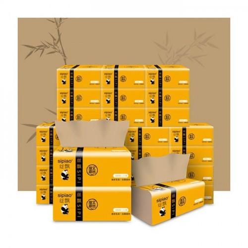 1 thùng giấy ăn gấu trúc sipiao 27 gói