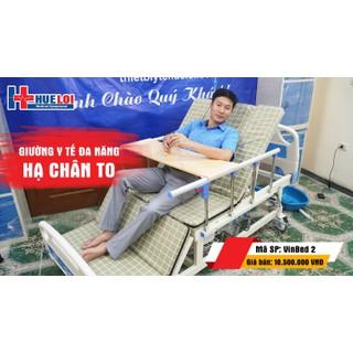 Giường bệnh đa chức năng có chậu gội đầu - bô vệ sinh - HL300 thumbnail