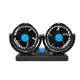 Quạt thông gió- Quạt đôi 12V ô tô - QD12V-1 thumbnail
